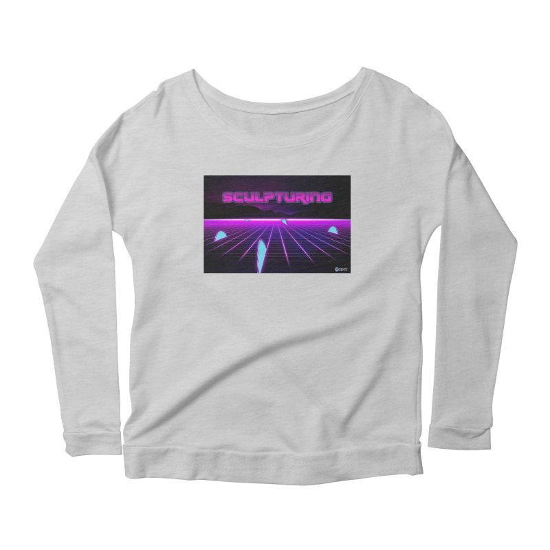 Sculpturing by ChupaCabrales Women's Longsleeve Scoopneck  by ChupaCabrales's Shop