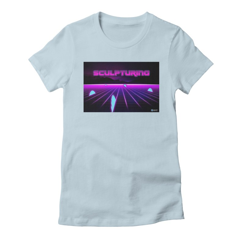 Sculpturing by ChupaCabrales Women's Fitted T-Shirt by ChupaCabrales's Shop