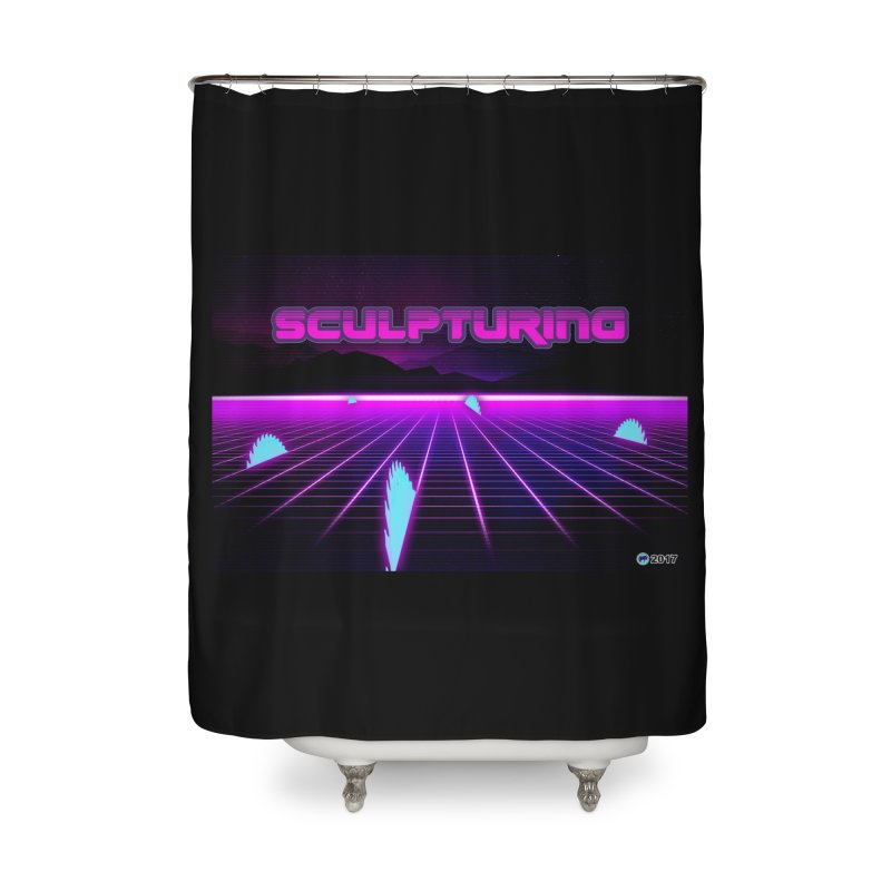 Sculpturing by ChupaCabrales Home Shower Curtain by ChupaCabrales's Shop