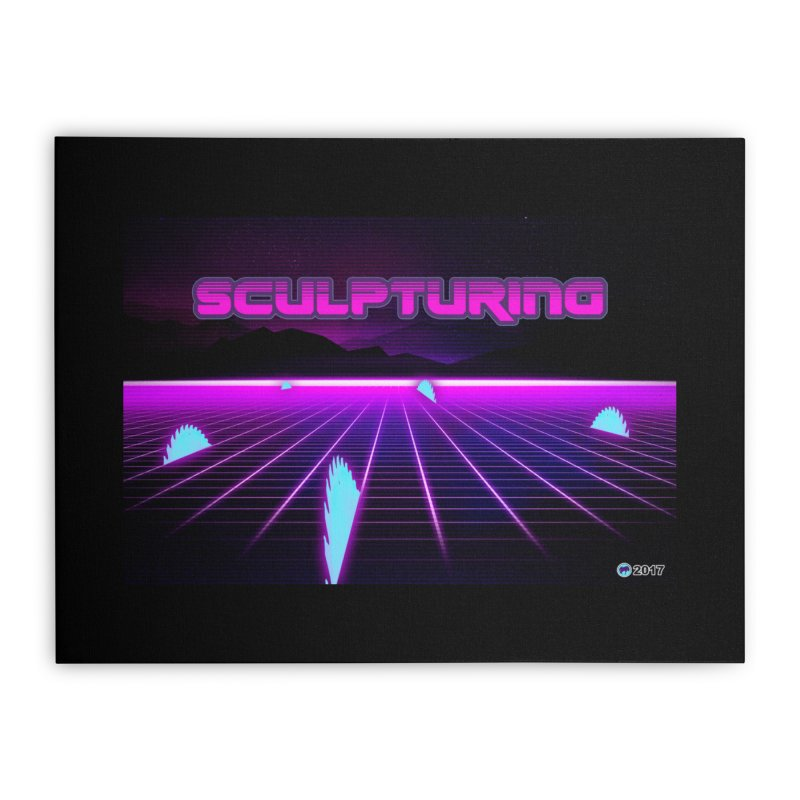 Sculpturing by ChupaCabrales Home Stretched Canvas by ChupaCabrales's Shop