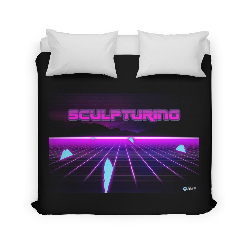 Sculpturing by ChupaCabrales Home Duvet by ChupaCabrales's Shop