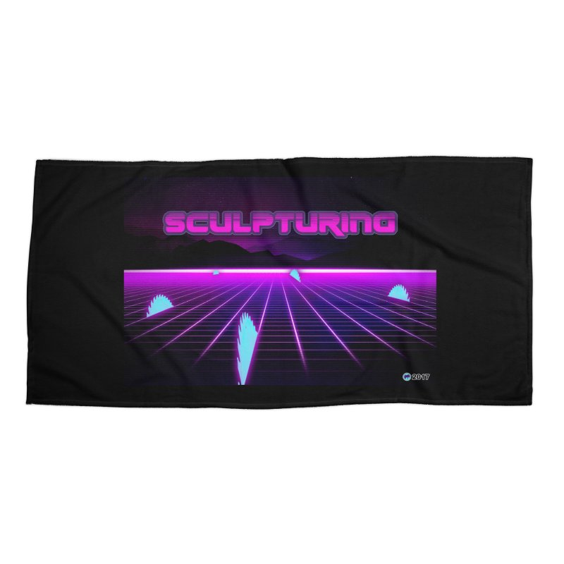Sculpturing by ChupaCabrales Accessories Beach Towel by ChupaCabrales's Shop