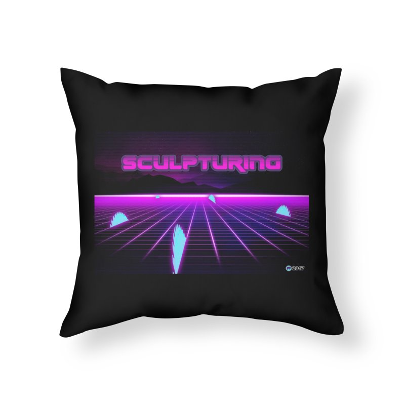 Sculpturing by ChupaCabrales Home Throw Pillow by ChupaCabrales's Shop