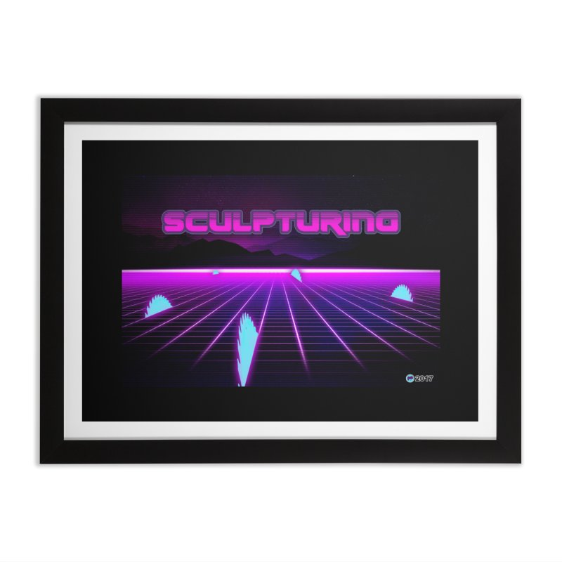 Sculpturing by ChupaCabrales Home Framed Fine Art Print by ChupaCabrales's Shop