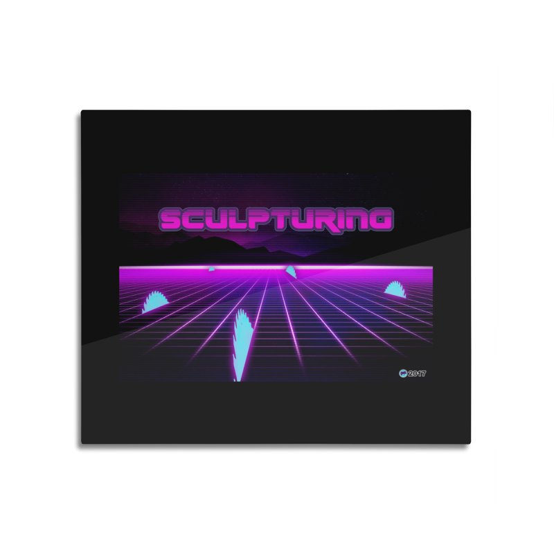 Sculpturing by ChupaCabrales Home Mounted Acrylic Print by ChupaCabrales's Shop