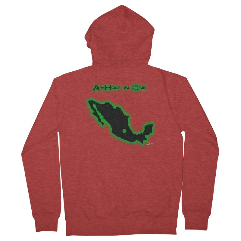 A-Hole in One by ChupaCabrales Men's Zip-Up Hoody by ChupaCabrales's Shop