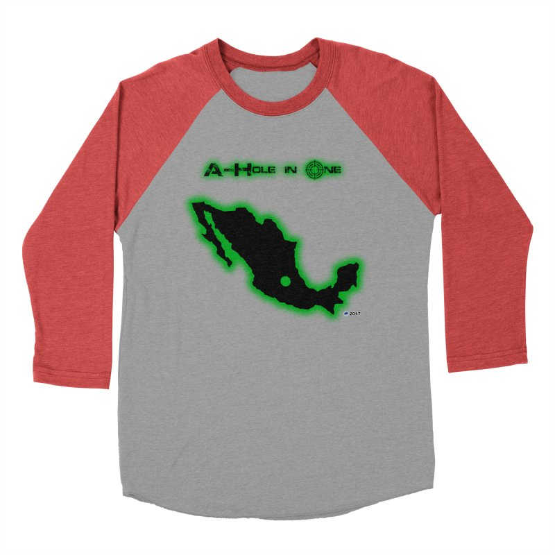 A-Hole in One by ChupaCabrales Women's Baseball Triblend T-Shirt by ChupaCabrales's Shop