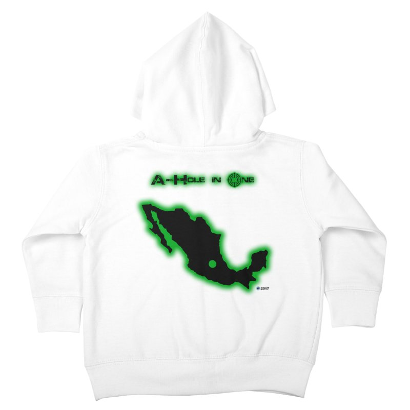 A-Hole in One by ChupaCabrales Kids Toddler Zip-Up Hoody by ChupaCabrales's Shop