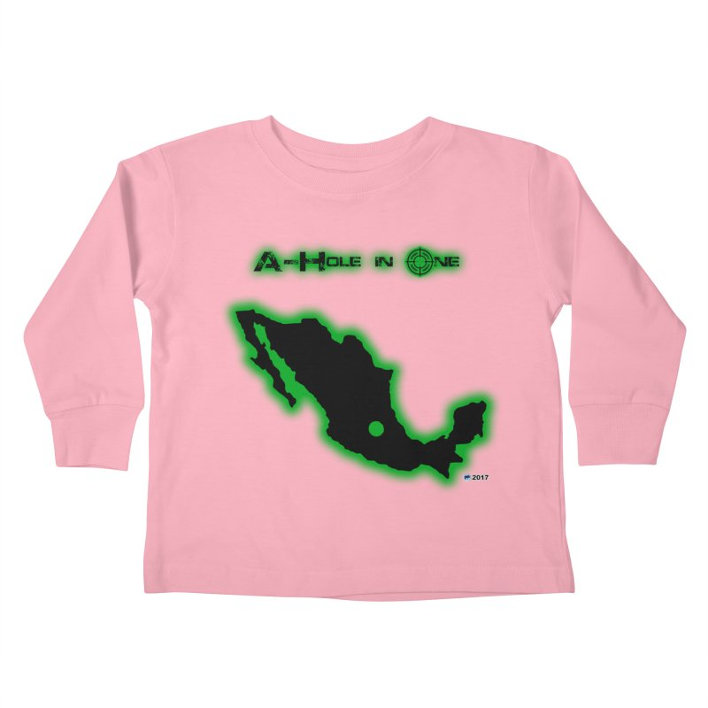 A-Hole in One by ChupaCabrales Kids Toddler Longsleeve T-Shirt by ChupaCabrales's Shop