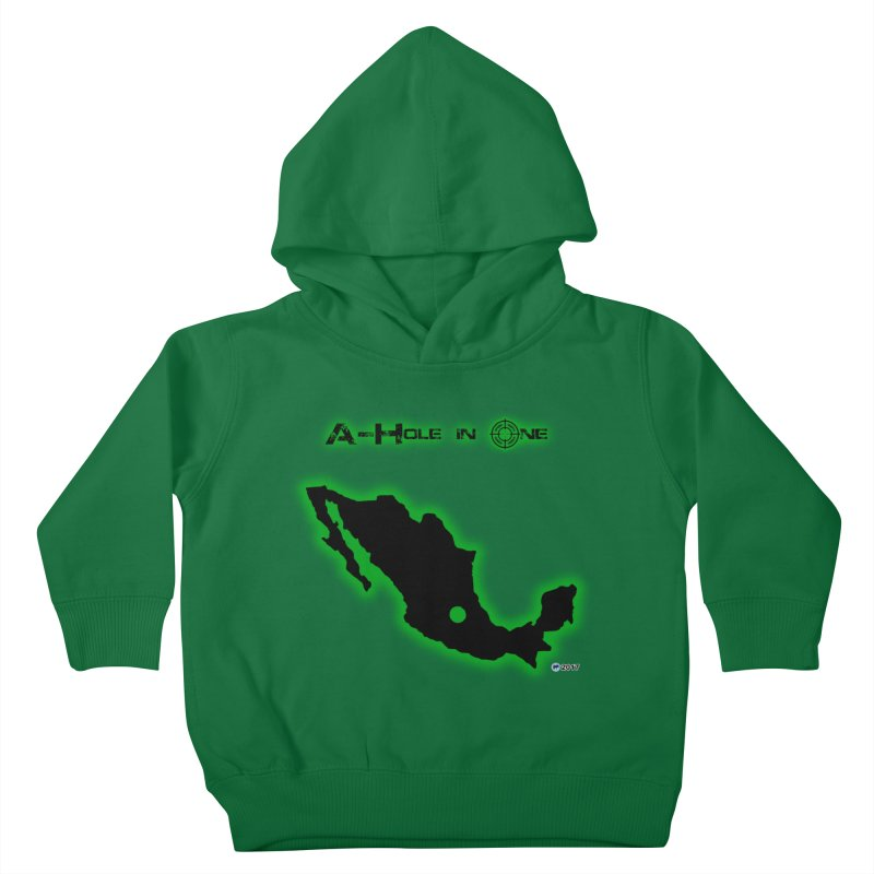 A-Hole in One by ChupaCabrales Kids Toddler Pullover Hoody by ChupaCabrales's Shop
