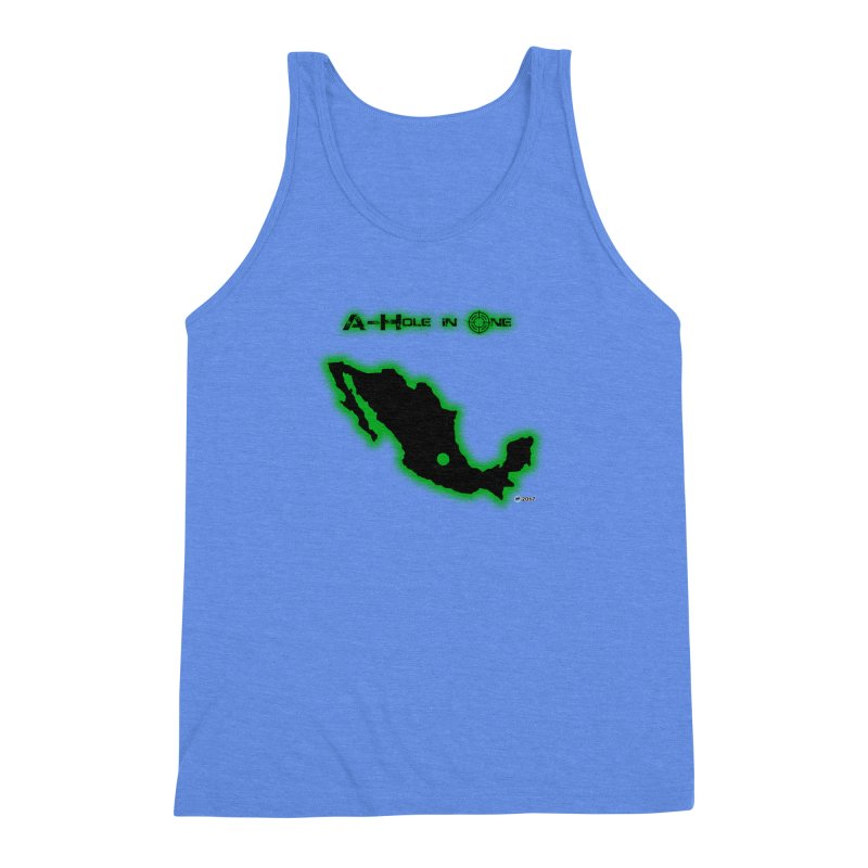 A-Hole in One by ChupaCabrales Men's Triblend Tank by ChupaCabrales's Shop