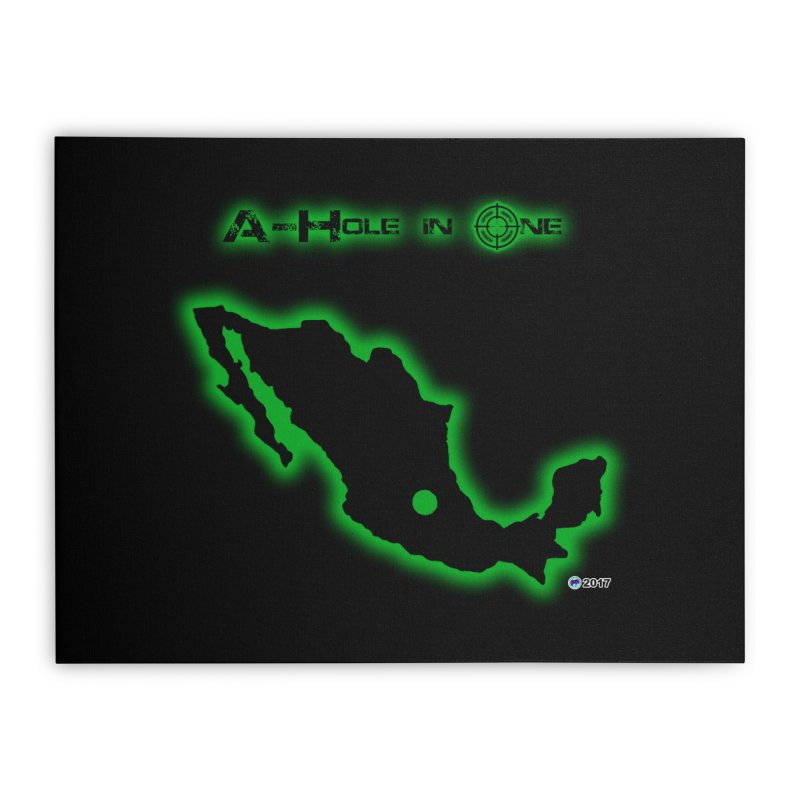 A-Hole in One by ChupaCabrales Home Stretched Canvas by ChupaCabrales's Shop