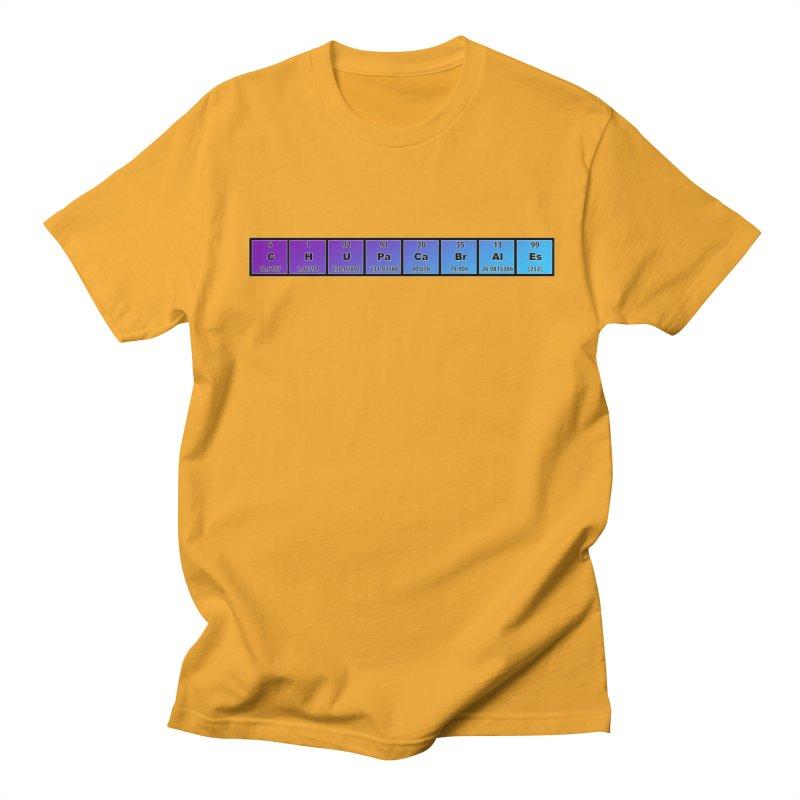ChupaCabrales Elements by ChupaCabrales Men's T-Shirt by ChupaCabrales's Shop