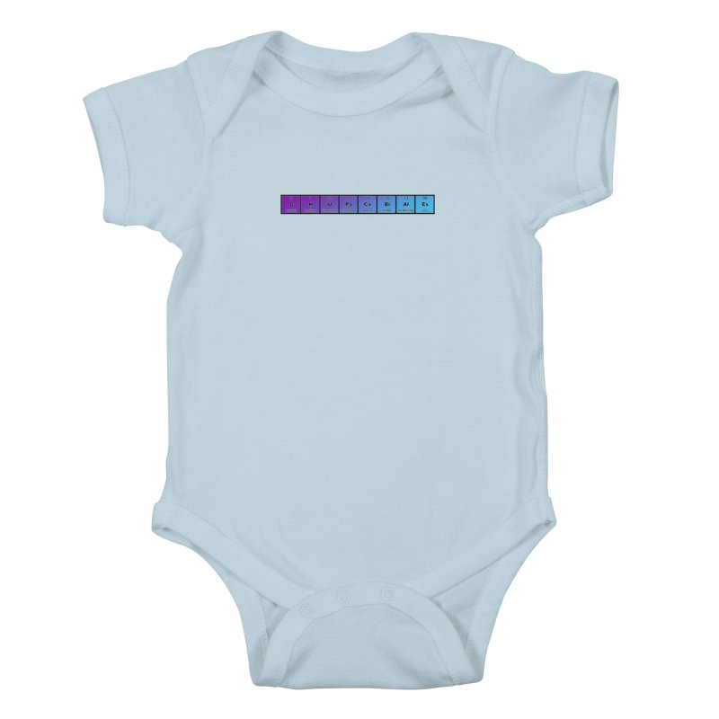 ChupaCabrales Elements by ChupaCabrales Kids Baby Bodysuit by ChupaCabrales's Shop