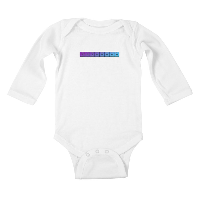 ChupaCabrales Elements by ChupaCabrales Kids Baby Longsleeve Bodysuit by ChupaCabrales's Shop