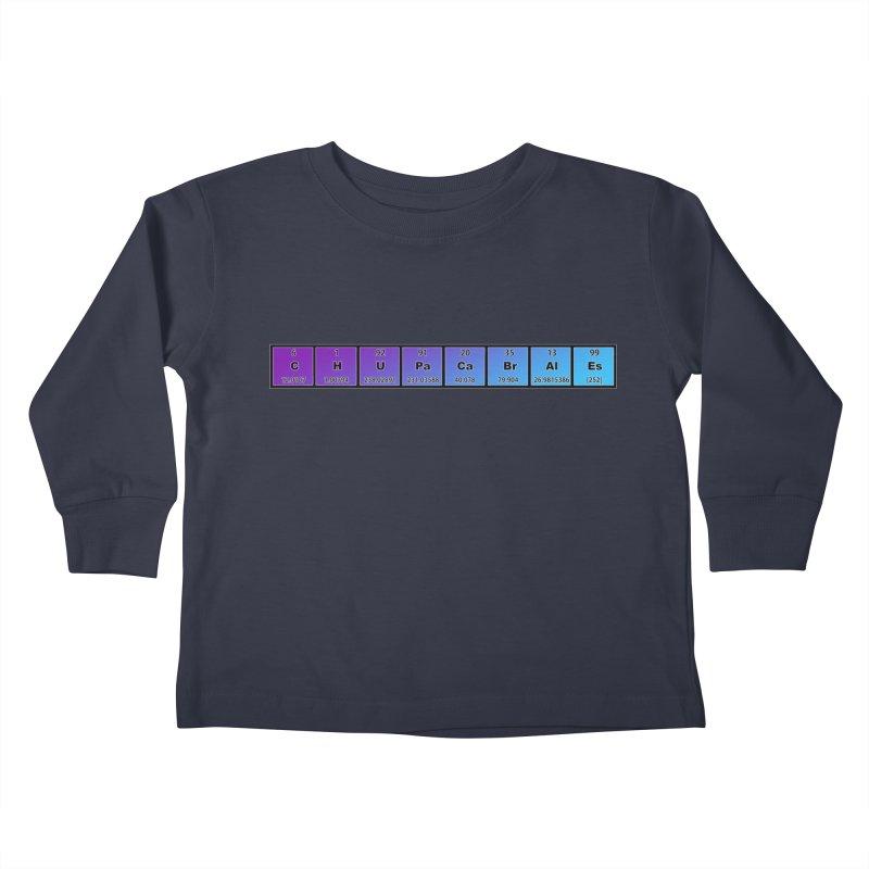 ChupaCabrales Elements by ChupaCabrales Kids Toddler Longsleeve T-Shirt by ChupaCabrales's Shop