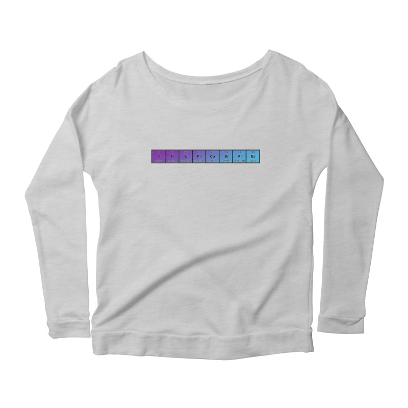 ChupaCabrales Elements by ChupaCabrales Women's Scoop Neck Longsleeve T-Shirt by ChupaCabrales's Shop