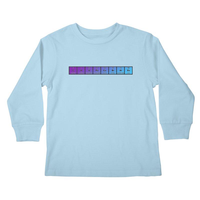 ChupaCabrales Elements by ChupaCabrales Kids Longsleeve T-Shirt by ChupaCabrales's Shop