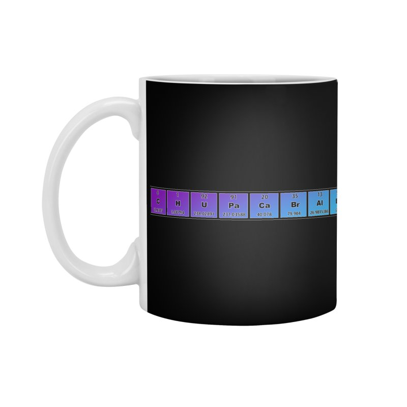 ChupaCabrales Elements by ChupaCabrales Accessories Mug by ChupaCabrales's Shop