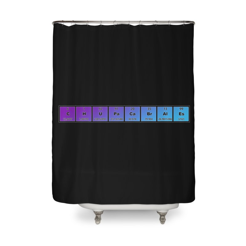 ChupaCabrales Elements by ChupaCabrales Home Shower Curtain by ChupaCabrales's Shop