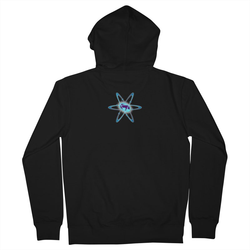 The Atom by ChupaCabrales Women's French Terry Zip-Up Hoody by ChupaCabrales's Shop