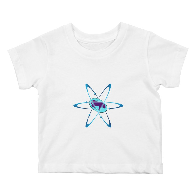 The Atom by ChupaCabrales Kids Baby T-Shirt by ChupaCabrales's Shop