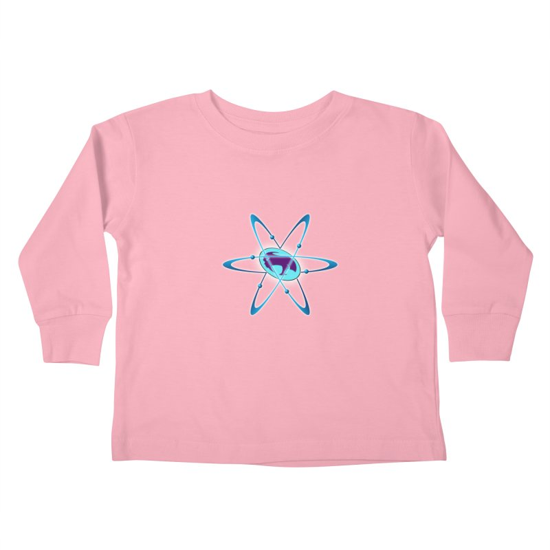 The Atom by ChupaCabrales Kids Toddler Longsleeve T-Shirt by ChupaCabrales's Shop