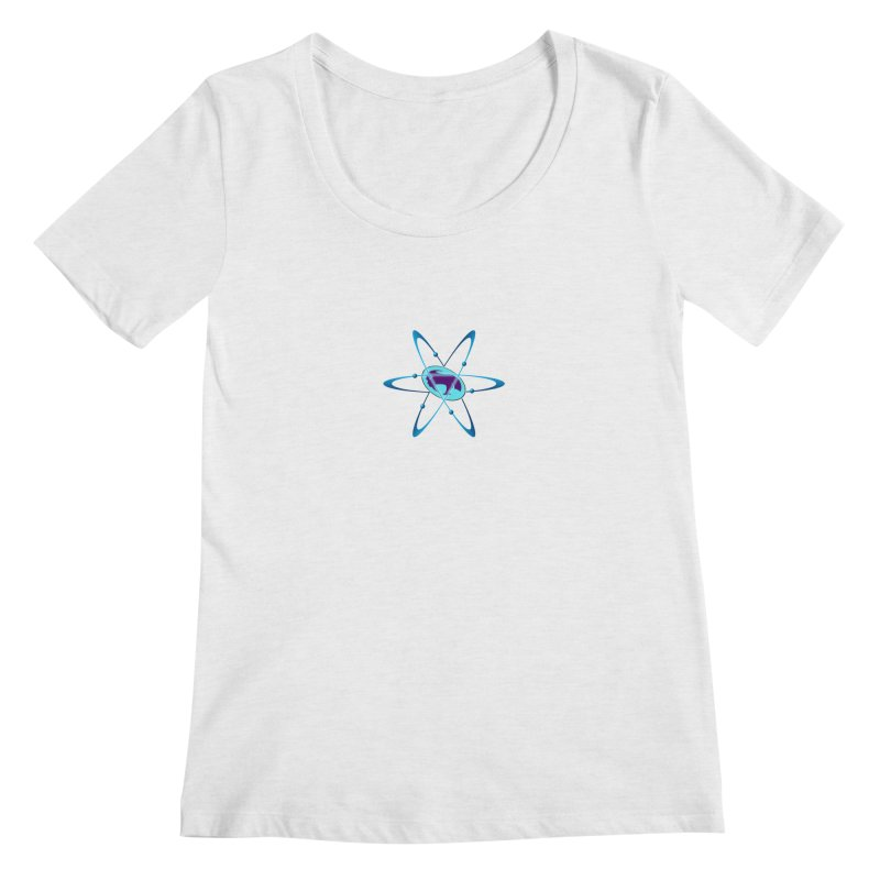 The Atom by ChupaCabrales Women's Scoop Neck by ChupaCabrales's Shop