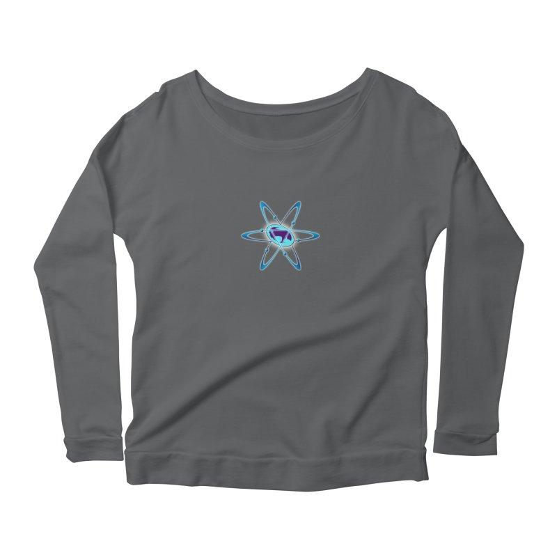 The Atom by ChupaCabrales Women's Scoop Neck Longsleeve T-Shirt by ChupaCabrales's Shop