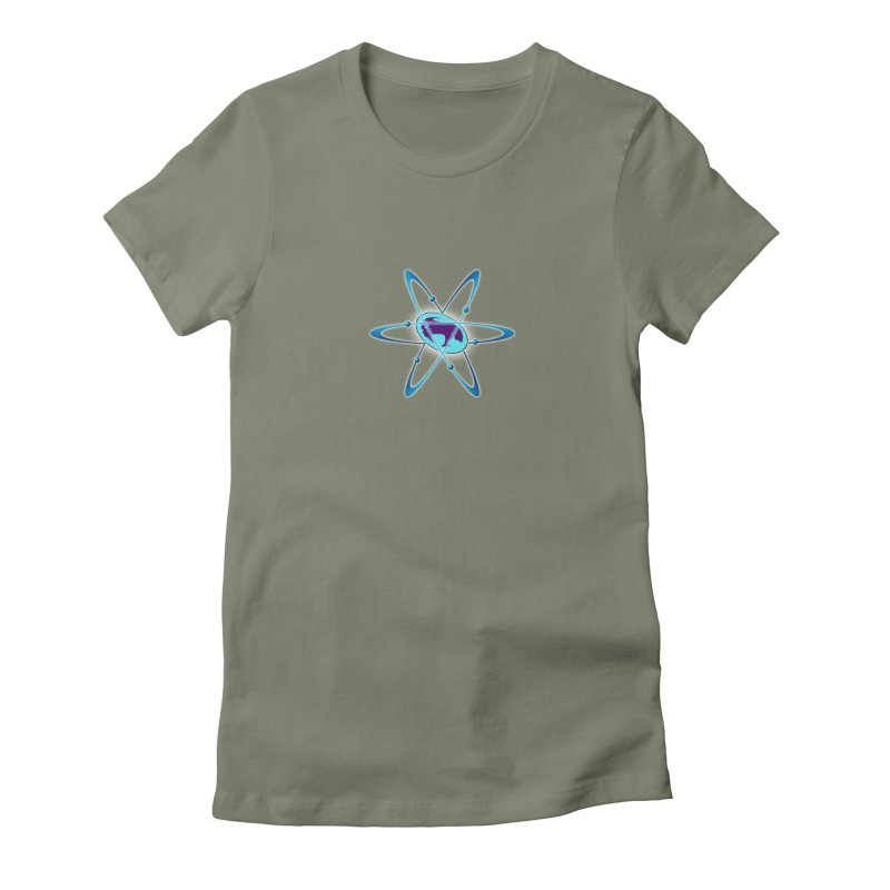 The Atom by ChupaCabrales Women's T-Shirt by ChupaCabrales's Shop