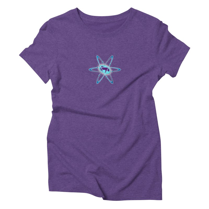 The Atom by ChupaCabrales Women's Triblend T-Shirt by ChupaCabrales's Shop