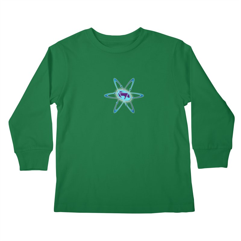 The Atom by ChupaCabrales Kids Longsleeve T-Shirt by ChupaCabrales's Shop