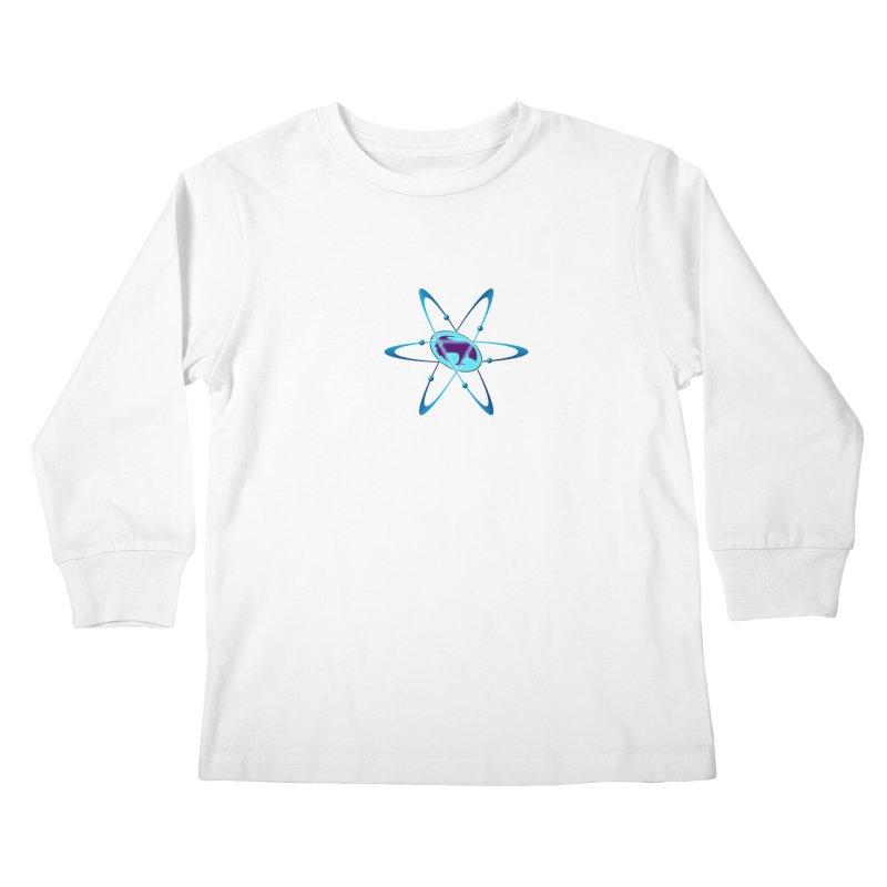 The Atom by ChupaCabrales Kids Longsleeve T-Shirt by ChupaCabrales's Shop