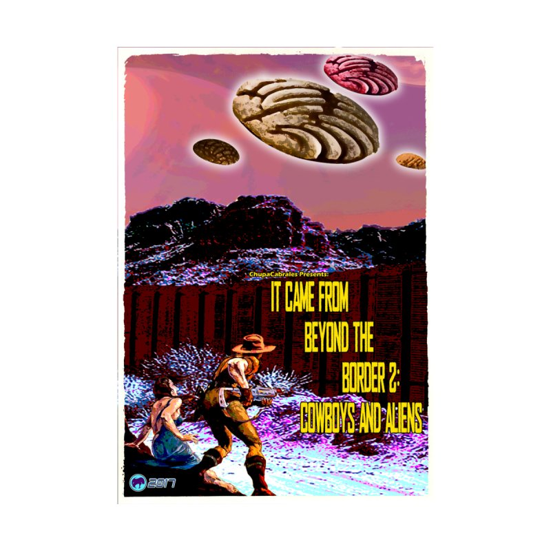 It Came from Beyond the Border2: Cowboys and Aliens by ChupaCabrales Home Blanket by ChupaCabrales's Shop