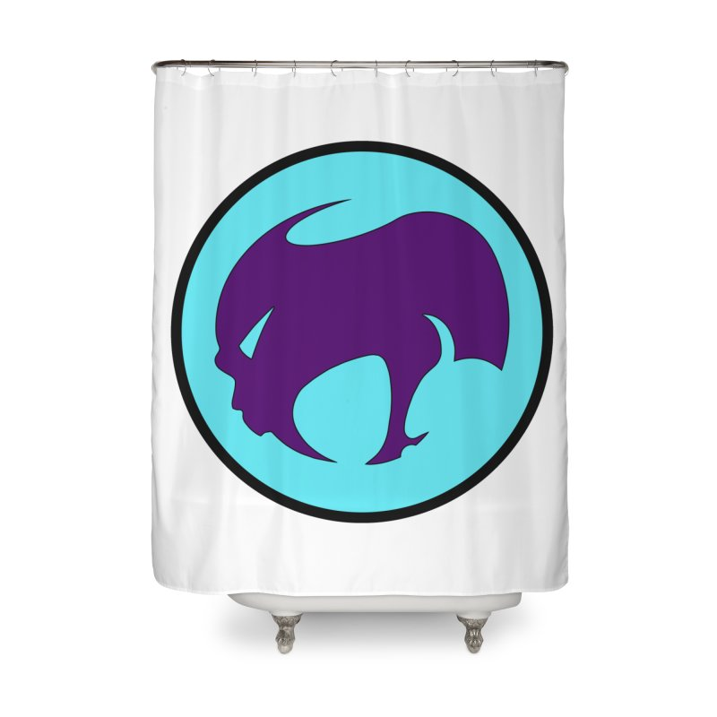ChupaCabrales Ensignia Home Shower Curtain by ChupaCabrales's Shop