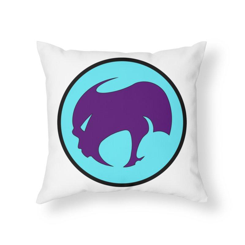 ChupaCabrales Ensignia Home Throw Pillow by ChupaCabrales's Shop