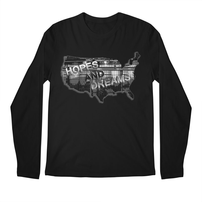 Hopes and Dreams Men's Longsleeve T-Shirt by ChupaCabrales's Shop