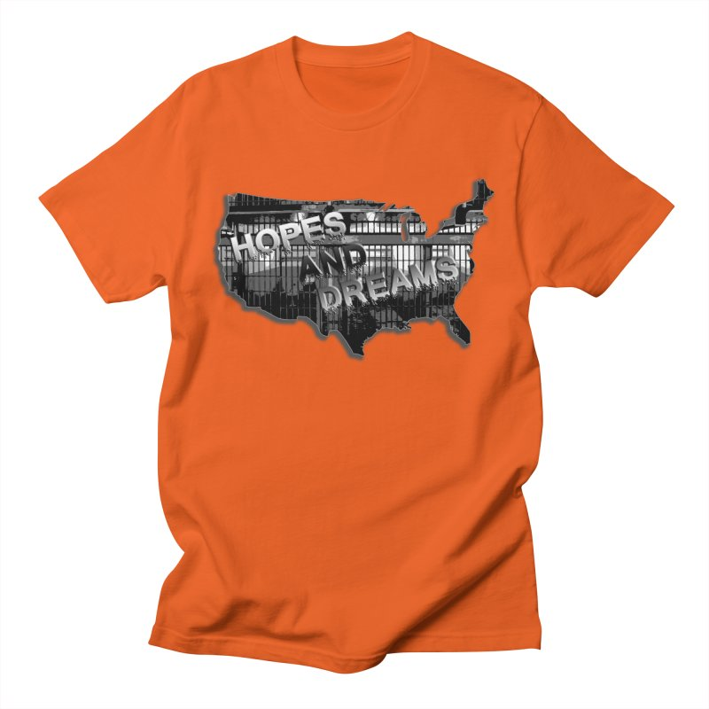 Hopes and Dreams Men's T-Shirt by ChupaCabrales's Shop