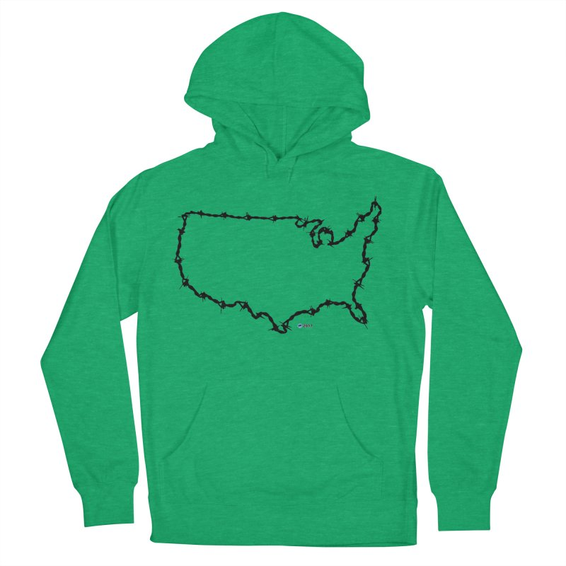 The New Colossus (Give me your tired, your poor...) v.2 by ChupaCabrales Women's French Terry Pullover Hoody by ChupaCabrales's Shop