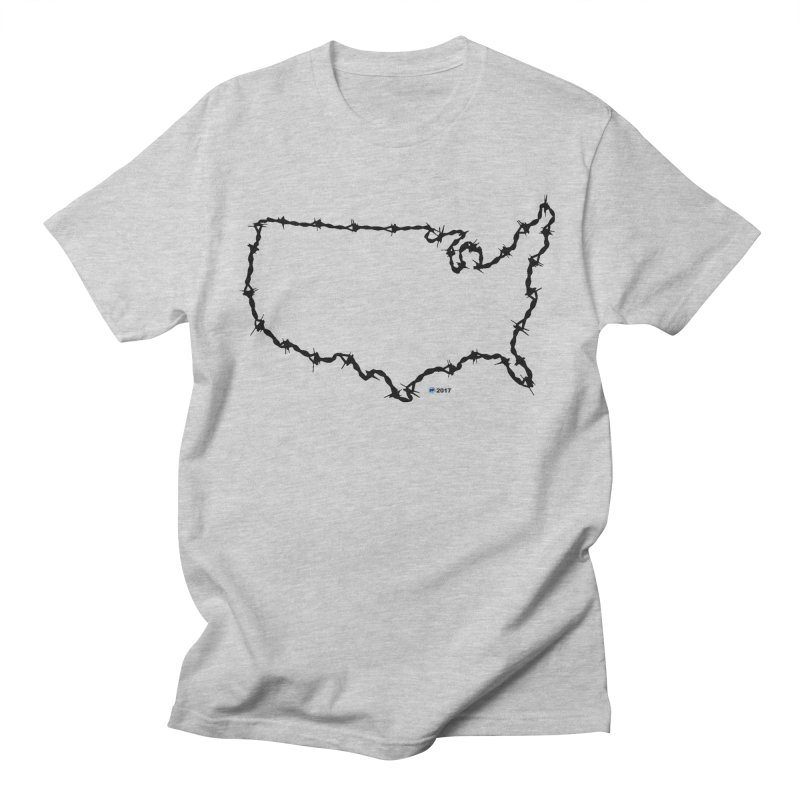 The New Colossus (Give me your tired, your poor...) v.2 by ChupaCabrales Women's Regular Unisex T-Shirt by ChupaCabrales's Shop