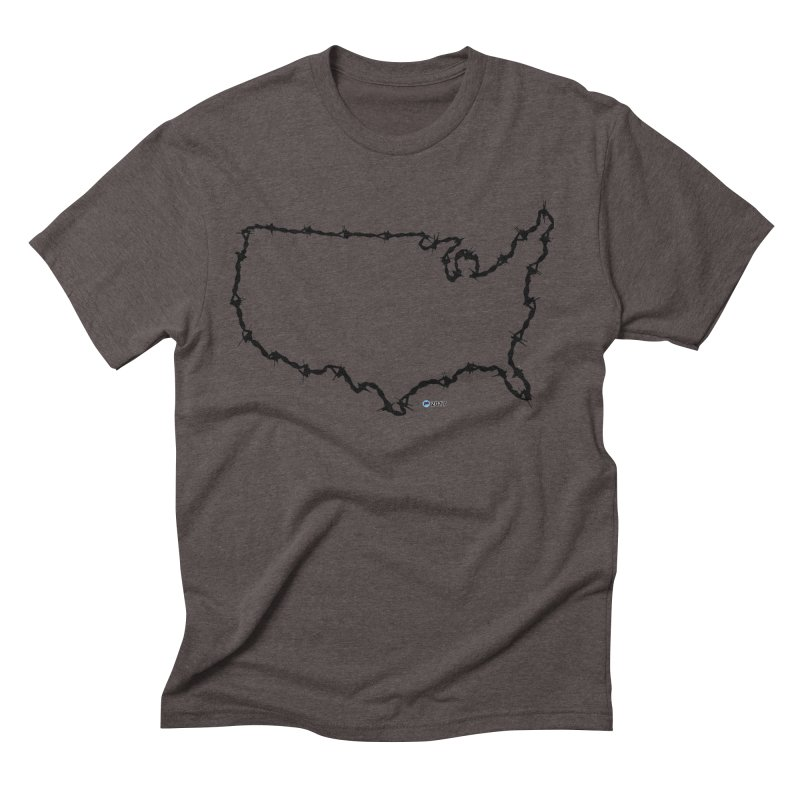 The New Colossus (Give me your tired, your poor...) v.2 by ChupaCabrales Men's Triblend T-Shirt by ChupaCabrales's Shop