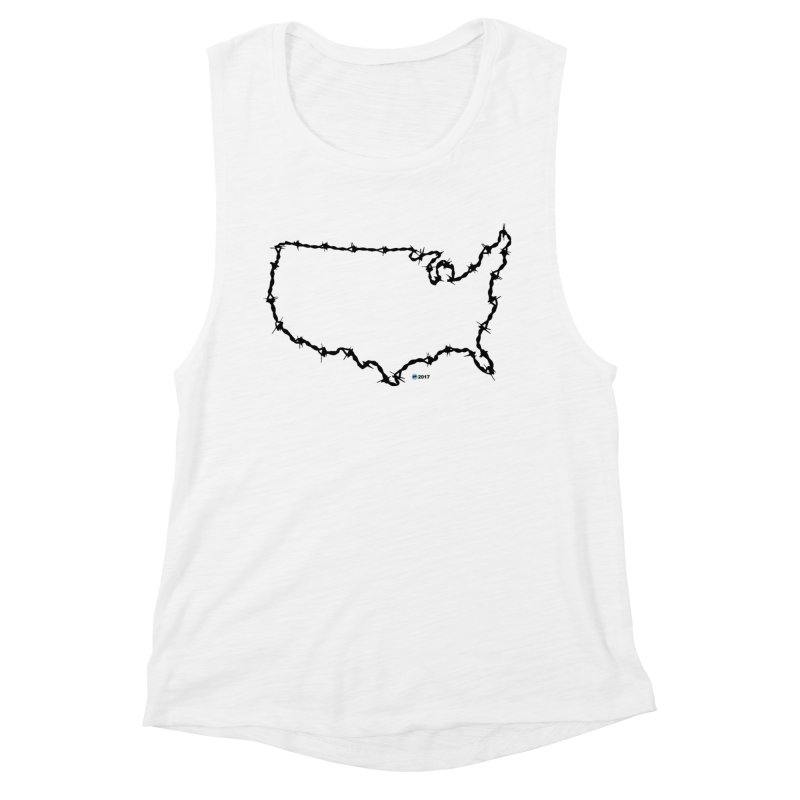 The New Colossus (Give me your tired, your poor...) v.2 by ChupaCabrales Women's Tank by ChupaCabrales's Shop