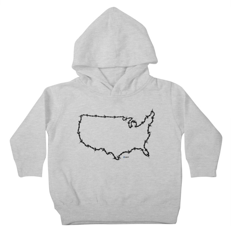 The New Colossus (Give me your tired, your poor...) v.2 by ChupaCabrales Kids Toddler Pullover Hoody by ChupaCabrales's Shop