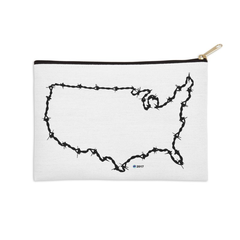The New Colossus (Give me your tired, your poor...) v.2 by ChupaCabrales Accessories Zip Pouch by ChupaCabrales's Shop