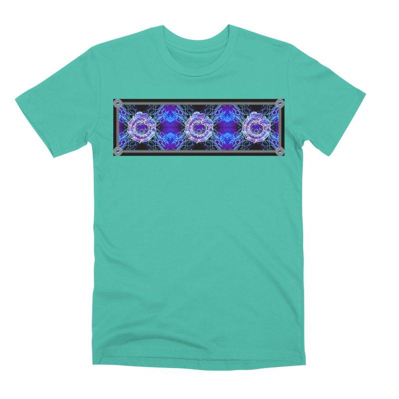 Techno Futura by ChupaCabrales Men's Premium T-Shirt by ChupaCabrales's Shop