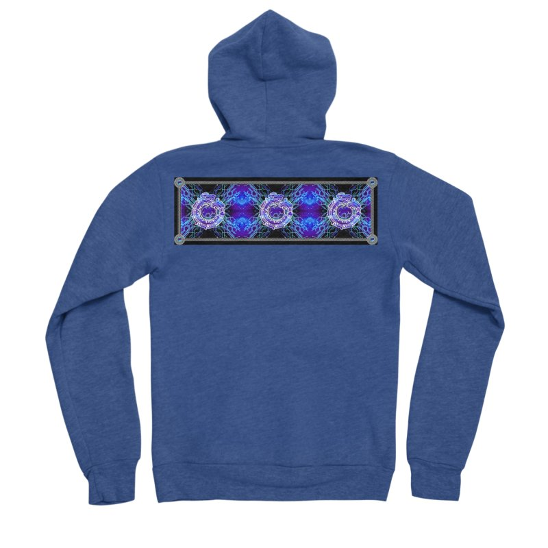Techno Futura by ChupaCabrales Men's Sponge Fleece Zip-Up Hoody by ChupaCabrales's Shop