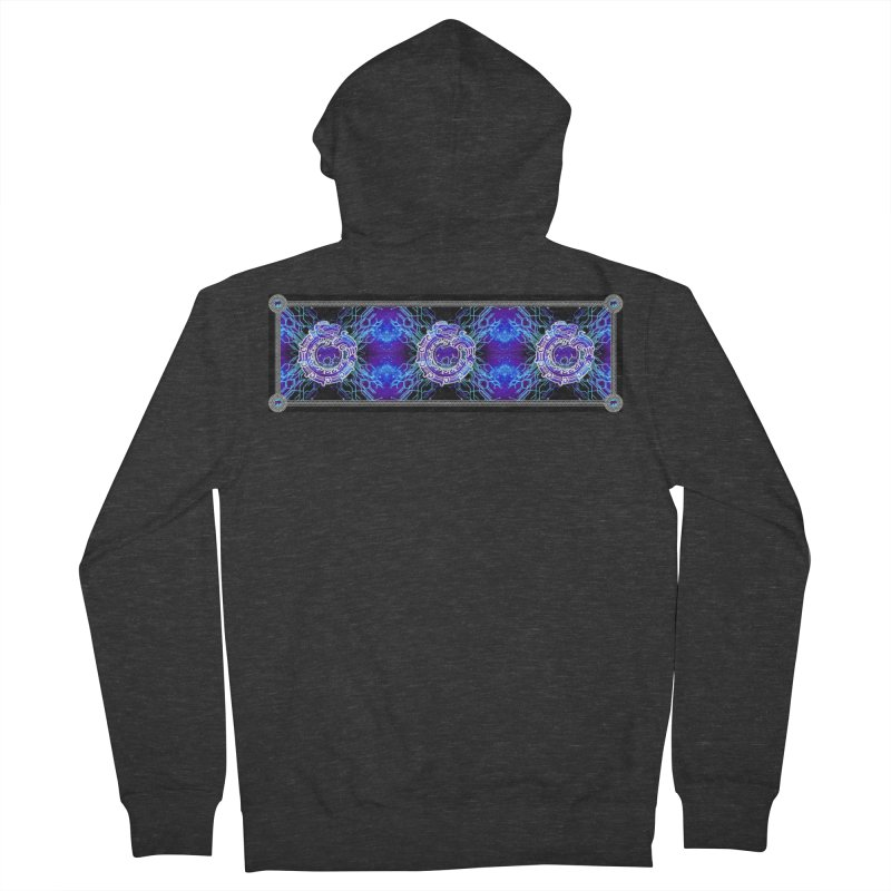 Techno Futura by ChupaCabrales Men's French Terry Zip-Up Hoody by ChupaCabrales's Shop