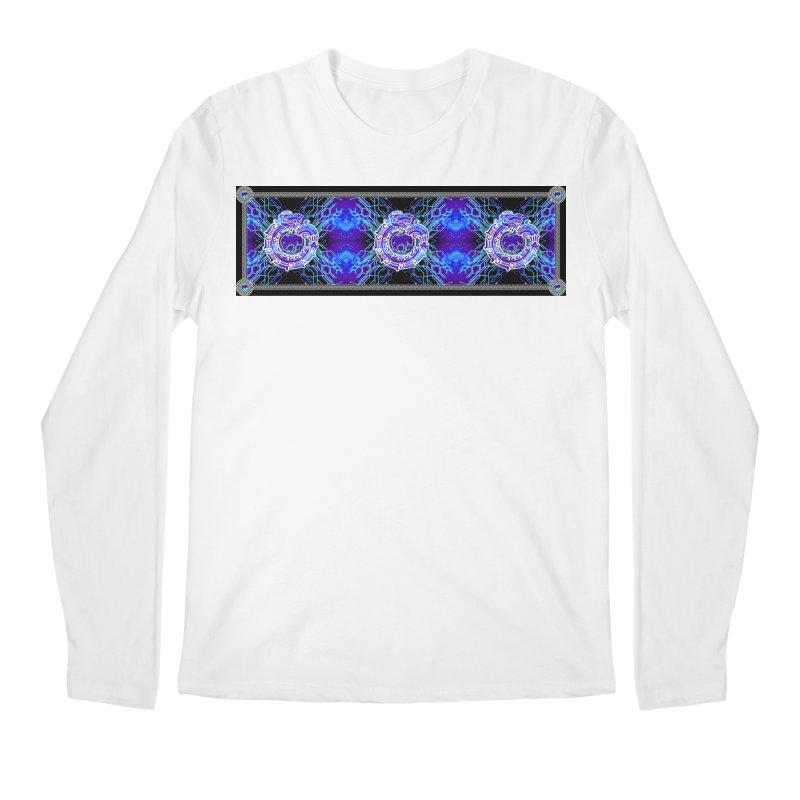 Techno Futura by ChupaCabrales Men's Regular Longsleeve T-Shirt by ChupaCabrales's Shop