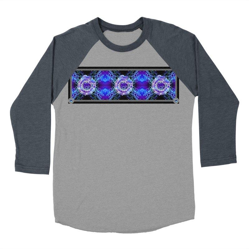 Techno Futura by ChupaCabrales Men's Baseball Triblend Longsleeve T-Shirt by ChupaCabrales's Shop