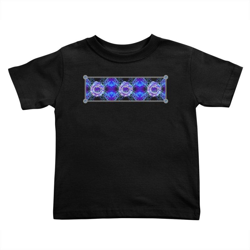 Techno Futura by ChupaCabrales Kids Toddler T-Shirt by ChupaCabrales's Shop